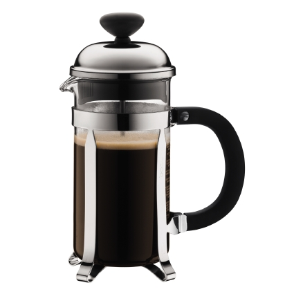 Der Bodum Kaffeebereiter CHAMBORD