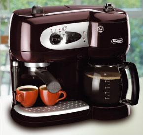 Kombi kaffeemaschine pad und filter
